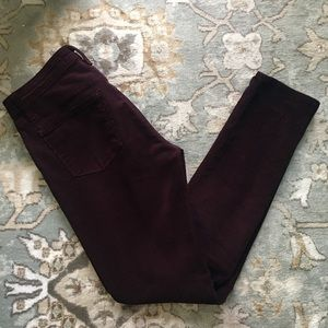 J. Brand Skinny Leg Cords